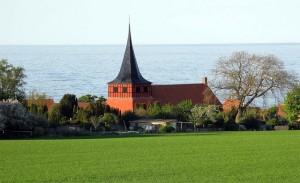 Kirken i Svaneke, der nok ikke er så meget besøgt som andre bornholmske kirker