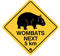 wombat på dansk